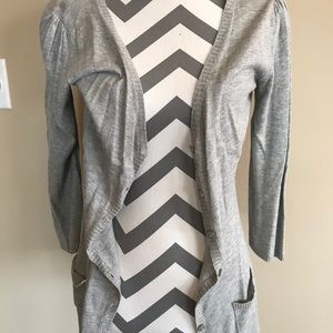 Light weight sweater cardigan