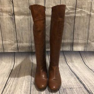 Nine West Riding/Tall boots, Brown, 7.5