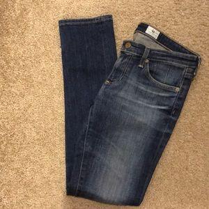 """AG """"The Stilt"""" Cigarette Leg Jean"""