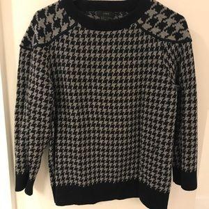 J Crew Houndstooth Sweater