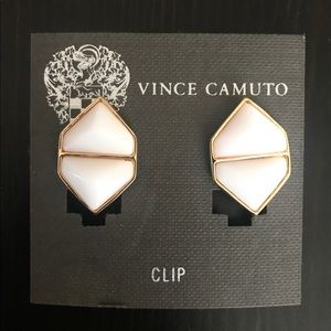 White Vince Camuto Earrings