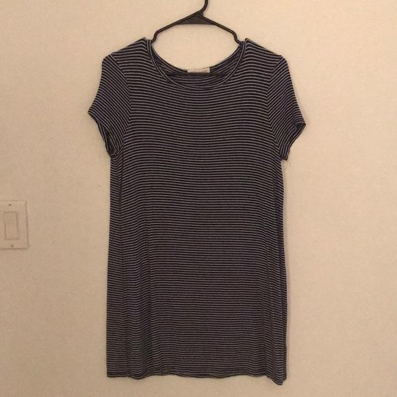 Tilly's Dresses - Striped T-Shirt Dress