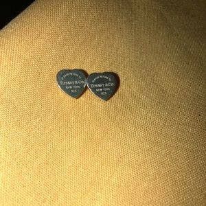 Tiffany &Co. heart earrings