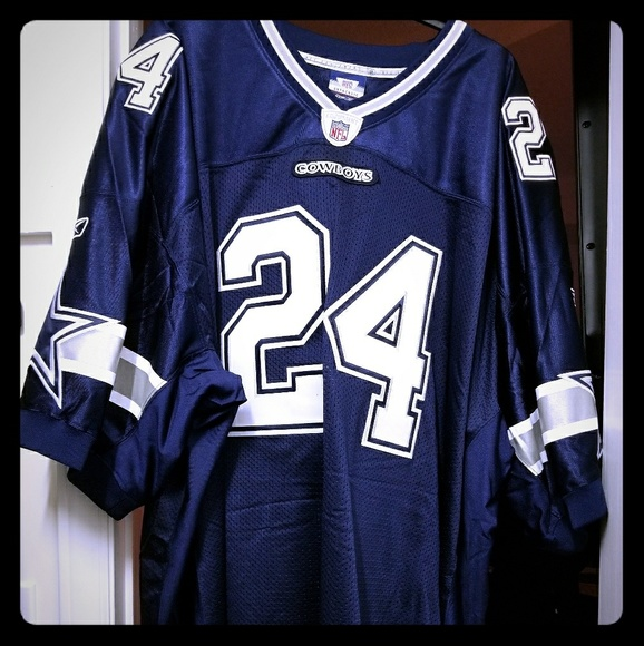 hot sale online f7432 f4f98 Dallas Cowboys Football Barber Authentic Jersey