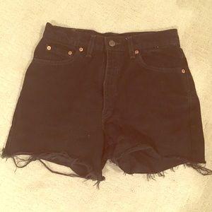 Vintage Levi's cut-off shorts