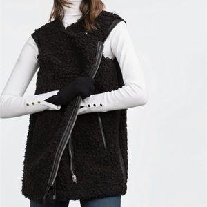 Zara Biker Vest, size S
