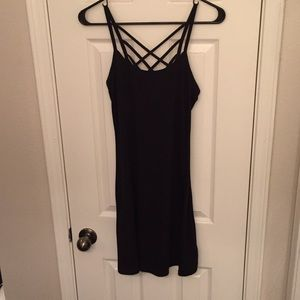 Size Small Little Black Dress w/ Criss Cross Back