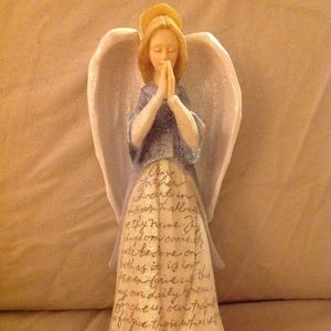Enesco angel The Lord's Prayer