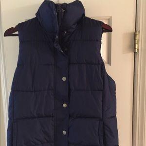 Navy Blue Old Navy Puffer Vest