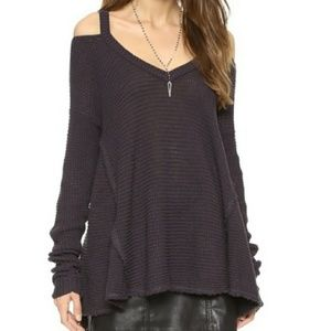 Free people cold shoulder thermal cutout