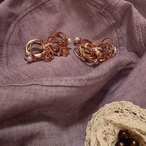 12 rose gold rings