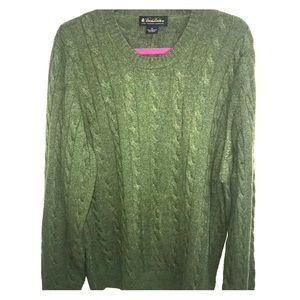 Brooks Brothers 100% Italian Cashmere Sweater