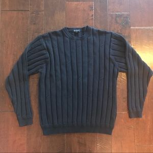 Nautica Blue Crew Neck Cable Knit Sweater XL