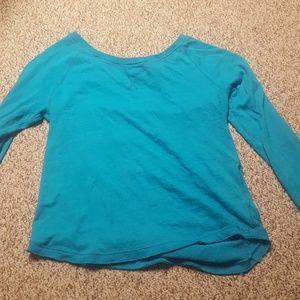 Long sleeve blue aeropostale shirt