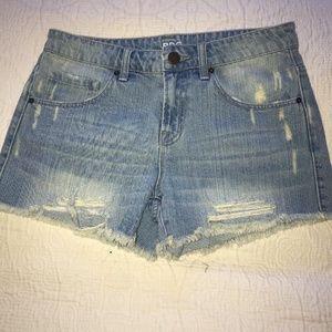 Mid Rise Denim Shorts - Never Worn