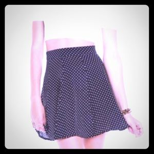 NWT ADORABLE POLKA DOT SKIRT