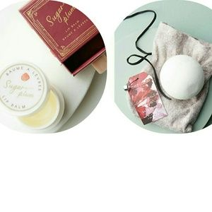 🆕Mini & Merry Lip Balm ❄ Mer-Sea & Co. Bath Bomb