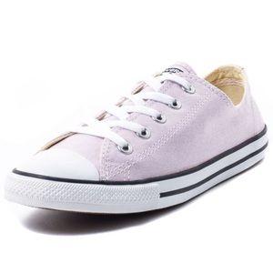 Light purple converse