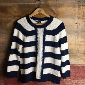 J.Crew Mixed Stripe Sweater
