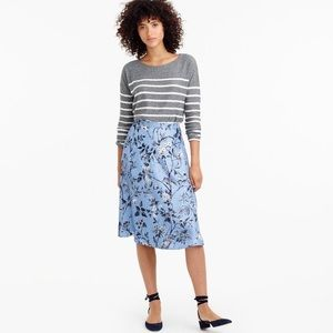 J Crew Collection A-line skirt Ratti® monkey print