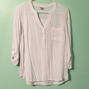 Basic white blouse