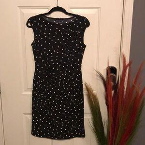 Black & White Polkadot Dress