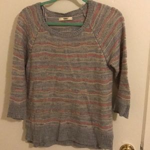 Oasis Grey Sweater Small