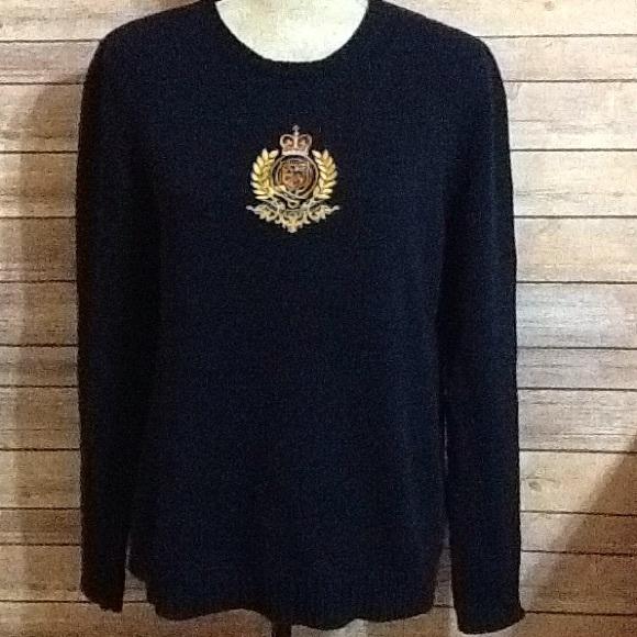 Lauren Ralph Lauren Sweaters M Crest Logo Ladies Sweater Poshmark