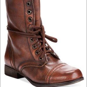 Steve Madden Women's Combat Boots