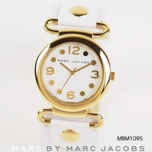MARC by MARC JACOBS white gold watch