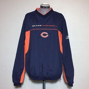NFL Team Apparel Chicago Bears Windbreaker