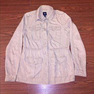 Gap Field Jacket Tan Khaki XS