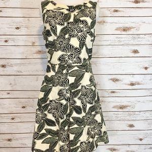 J.Crew Flower Print Dress