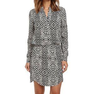 Sam Edelman Samantha Printed Shirt Dress