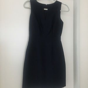 Navy wool J Crew Dress