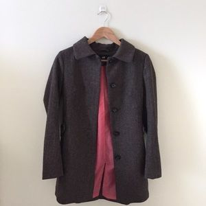 H&M Speckled Herringbone Coat