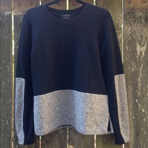 J. Crew Women's M Black / Grey Sweater