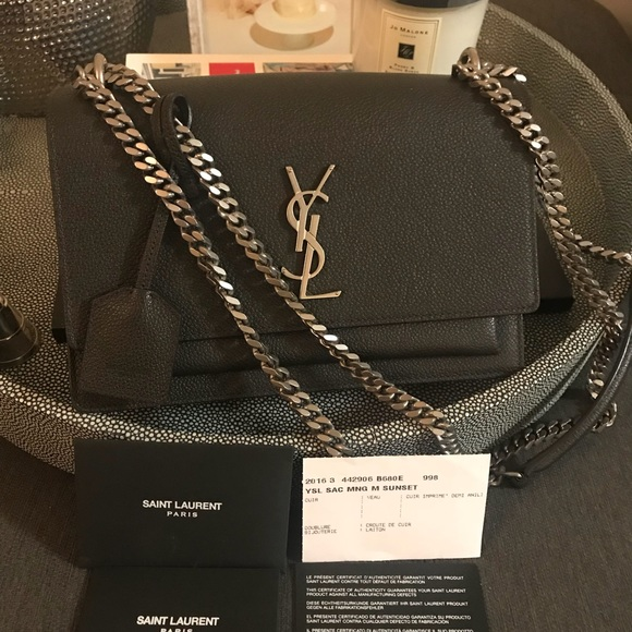 940e63685d6f M 5a1381e678b31c755200e9d5. Other Bags you may like. Saint Laurent Monogram  Mini Leather Crossbody
