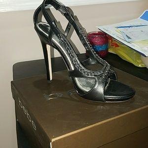 Bebe Sofia sandal black sz 7.5