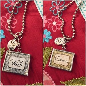 Jewelry - Wish & Dream necklace! 🌈 Reversible pendant♥️