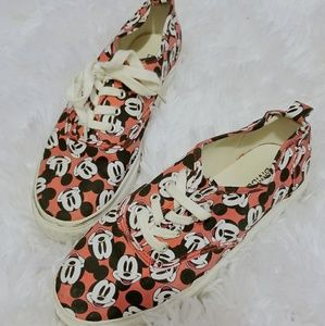 H&M x Disney platform sneakers