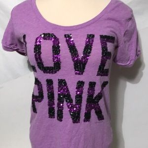 Tops - Pink Victoria's Secret size M women's shirt
