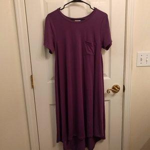 LuLaRoe Purple Carly