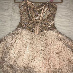 Blush prom by Alexia dress