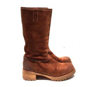 Shoes - Suede Prada boots