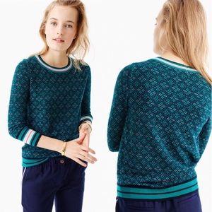 J Crew Merino Tippi Fair Isle Sweater