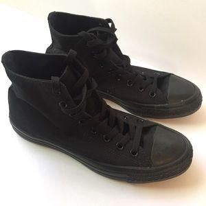 NWOB Converse Chuck Taylor High Top - All black