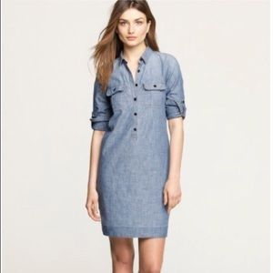 J Crew Chambray Dress sz 8
