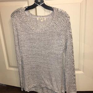 Pink Rose waffle knit sweater