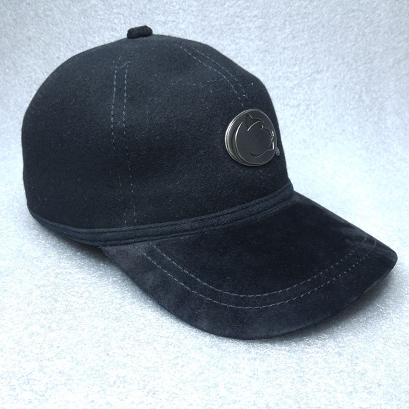 Cappello Other - Cappello Penn State Black Wool Fitted Ball Cap Hat a290a832a8bf